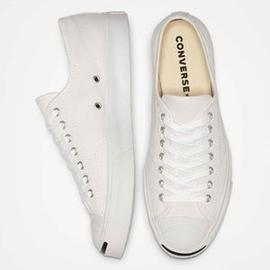 CONVERSE JACK PURCELL OXFORDS CANVAS SHOES 164057C NWT